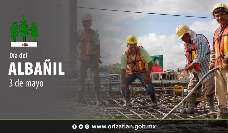 Celebremos a los trabajadores que construyen tus sueños. ¡Feliz día del albañil!