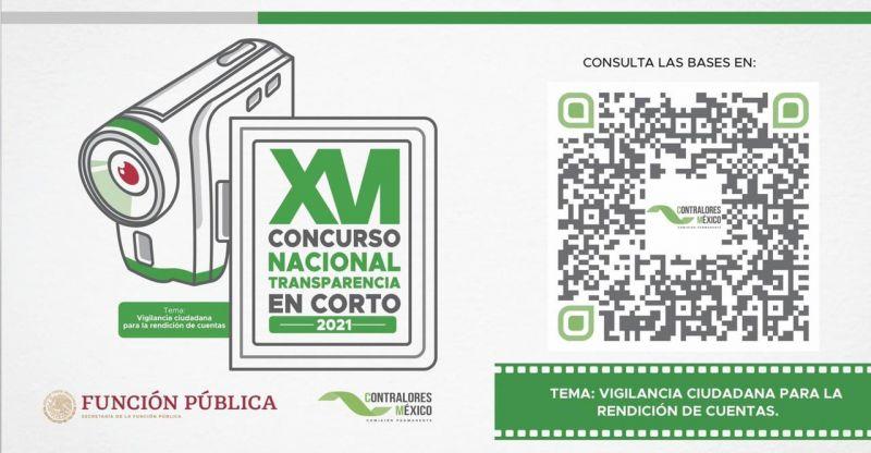 """PARTICIPA EN EL CONCURSO DE """"TRANSPARENCIA EN CORTO"""""""
