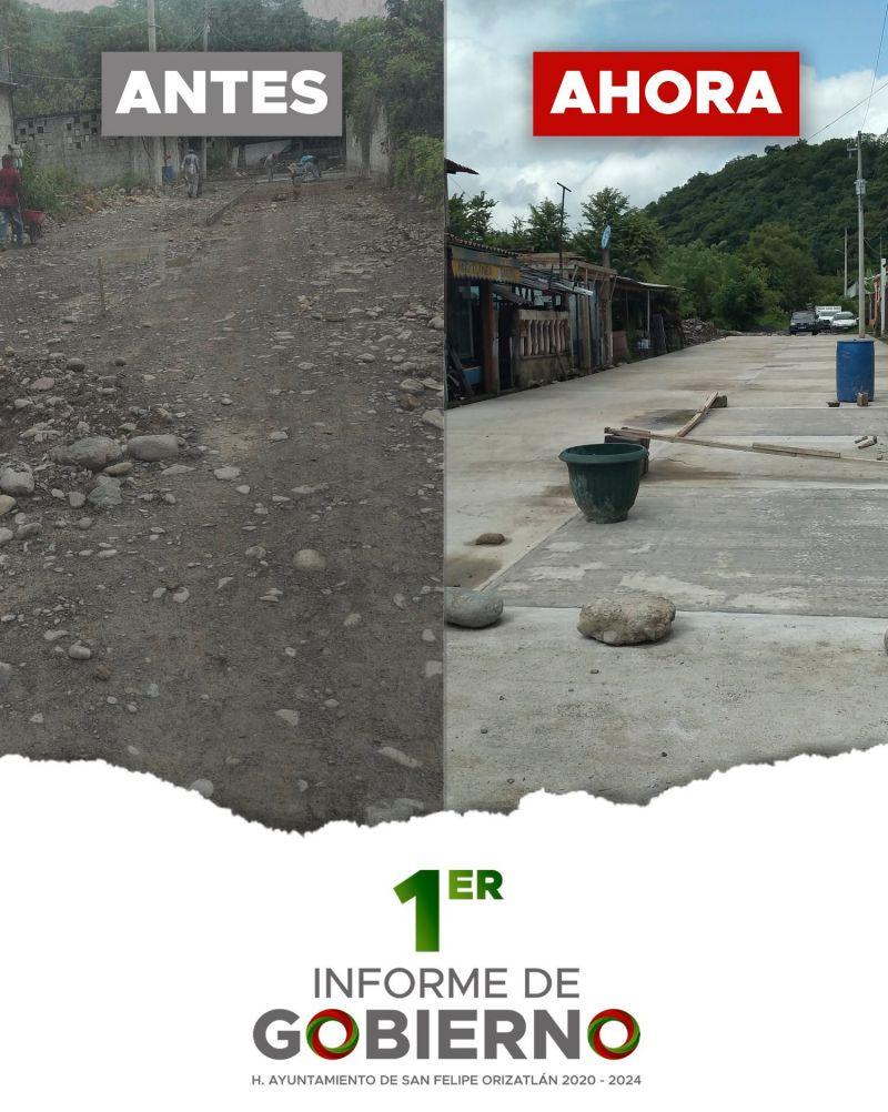 OBRAS DE CONSTRUCCION DE PAVIMENTOS TERMINADAS